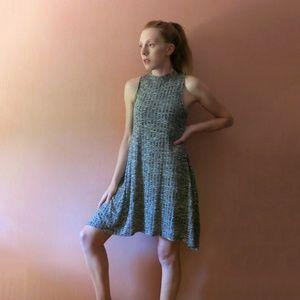 Maeve High Neck Knit Dress